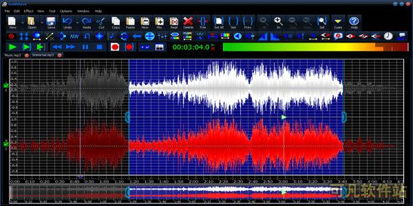 GoldWave (音频处理制作) 汉化破解版截图